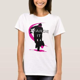 Charge it Pink Softball T-Shirt