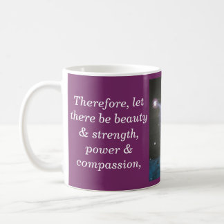 "Charge of the Goddess ""Virtues"" Mug (Canadian)"