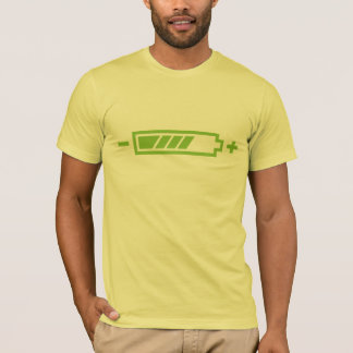 Charged - battery solar hybrid electric T-Shirt