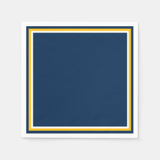 Charged Blue Paper Napkins