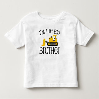 Chargeur d'avant de construction de frère t-shirt pour les tous petits