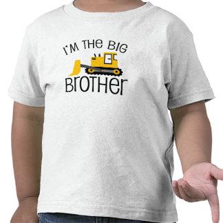 Chargeur d'avant de construction de frère t-shirts