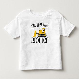 Chargeur d'avant de construction de frère tee-shirt