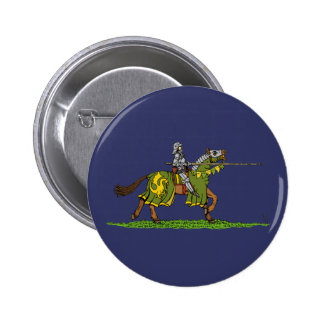 Charging Knight 2 Inch Round Button