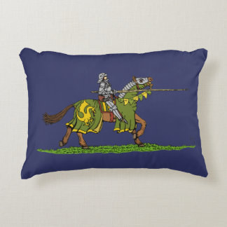 Charging Knight Accent Pillow