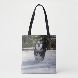 Charging Through Tote Bag