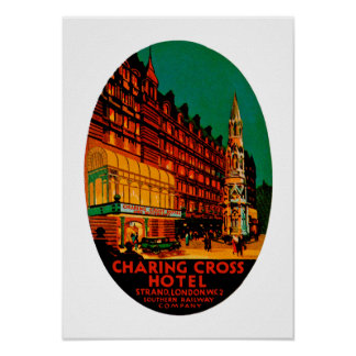 Charing Cross Hotel Poster