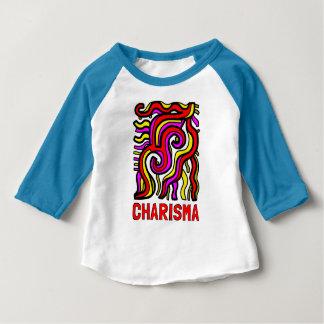"""Charisma"" Baby 3/4 Raglan T-Shirt"
