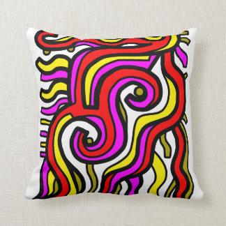 """Charisma"" BuddaKats Throw Pillow"