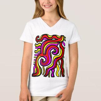 """Charisma"" Girls' V-Neck T-Shirt"
