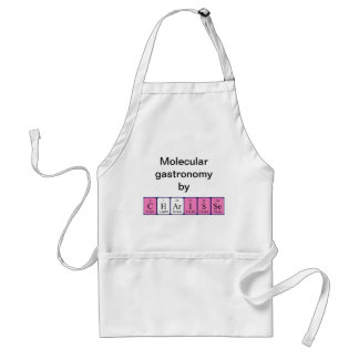 Charisse periodic table name apron