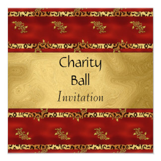 Charity Ball or Any Occasion Invitation