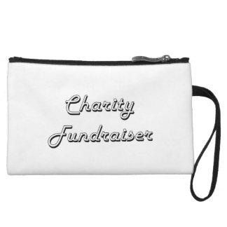 Charity Fundraiser Classic Job Design Wristlet Purse
