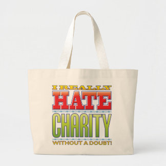 Charity Hate Canvas Bag
