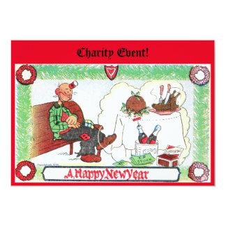 "Charity Invitation 5"" X 7"" Invitation Card"