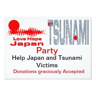 "Charity Party Invitations Customizable 5"" X 7"" Invitation Card"
