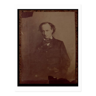 Charles Baudelaire (1820-1867), French poet, portr Postcard