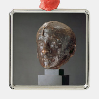 Charles Baudelaire, 1898 Silver-Colored Square Ornament