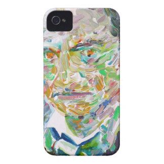 CHARLES BAUDELAIRE - oil portrait iPhone 4 Case