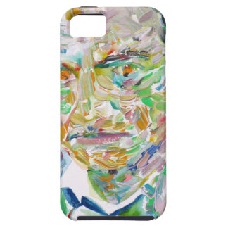 CHARLES BAUDELAIRE - oil portrait iPhone 5 Cover