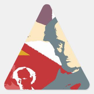 Charles BAUDELAIRE Triangle Sticker
