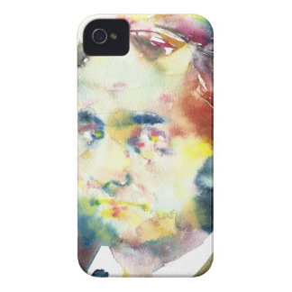 CHARLES BAUDELAIRE - watercolor portrait.1 iPhone 4 Cover