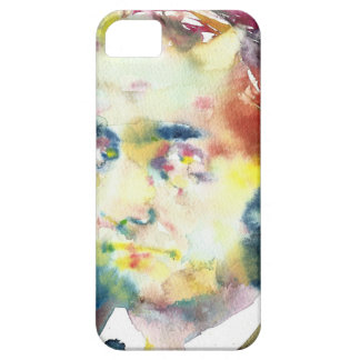 CHARLES BAUDELAIRE - watercolor portrait.1 iPhone 5 Cases