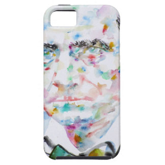 CHARLES BAUDELAIRE - watercolor portrait.2 Case For The iPhone 5