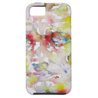 CHARLES BAUDELAIRE - watercolor portrait.3 Case For The iPhone 5