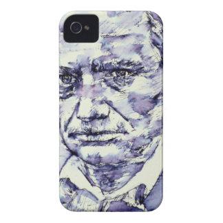 CHARLES BAUDELAIRE - watercolor portrait.4 iPhone 4 Case-Mate Case
