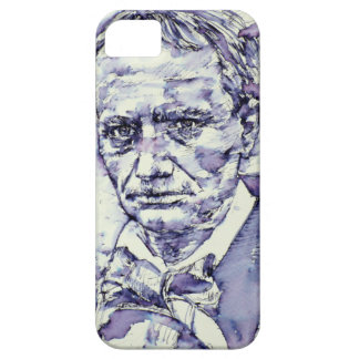 CHARLES BAUDELAIRE - watercolor portrait.4 iPhone 5 Case