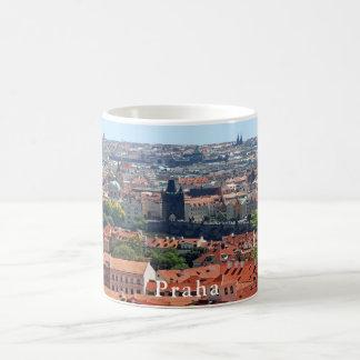Charles Bridge and Tiled Roofs Coffee Mug