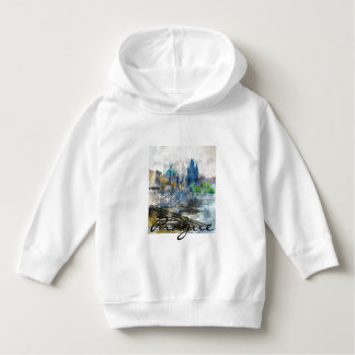 Charles Bridge in Prague Czech Republic Hoodie