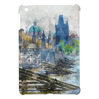 Charles Bridge in Prague Czech Republic iPad Mini Covers