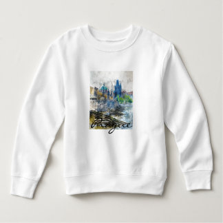 Charles Bridge in Prague Czech Republic Sweatshirt