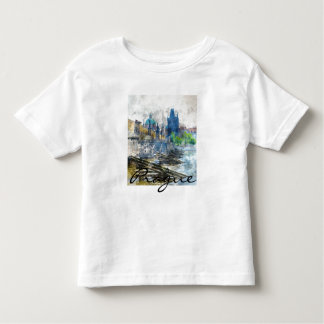 Charles Bridge in Prague Czech Republic Toddler T-shirt