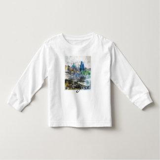 Charles Bridge in Prague Czech Republic Toddler T-shirt