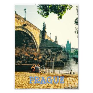Charles Bridge in Prague Photo Print