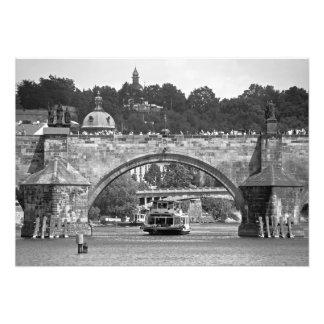 Charles Bridge in Prague. Photo Print