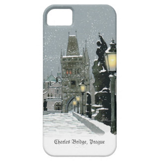 Charles Bridge iPhone SE/5/5S Barely There Case