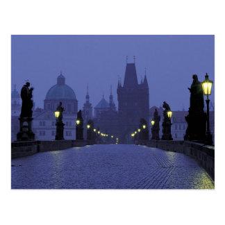 Charles Bridge - Prague Postcard