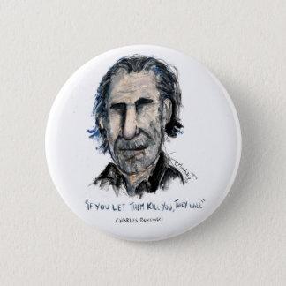 Charles Bukowski 2 Inch Round Button