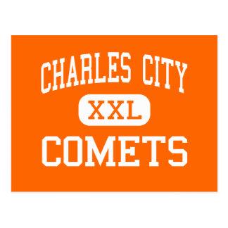 Charles City - Comets - Junior - Charles City Iowa Postcard