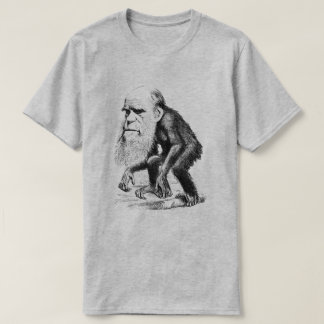 Charles Darwin As An Ape T-Shirt