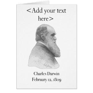 Charles Darwin Card