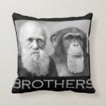 Charles Darwin et un chimpanzé sont des frères Coussin