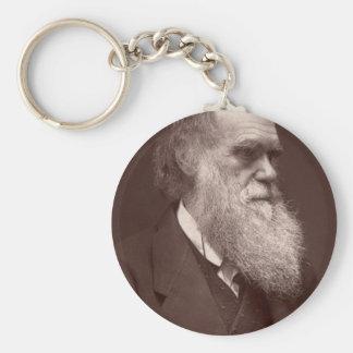 Charles Darwin Keychain