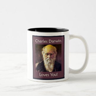 Charles Darwin Loves You! mug