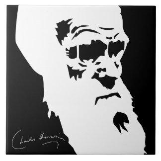 Charles Darwin Tile