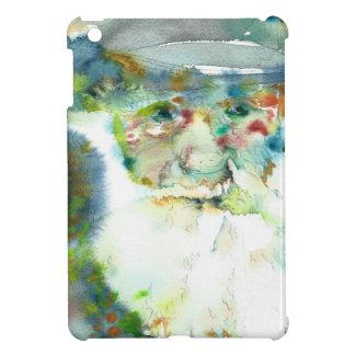 CHARLES DARWIN - watercolor portrait.2 Cover For The iPad Mini